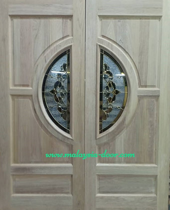 MDG4CL Full Solid KDD Wood l door malaysia