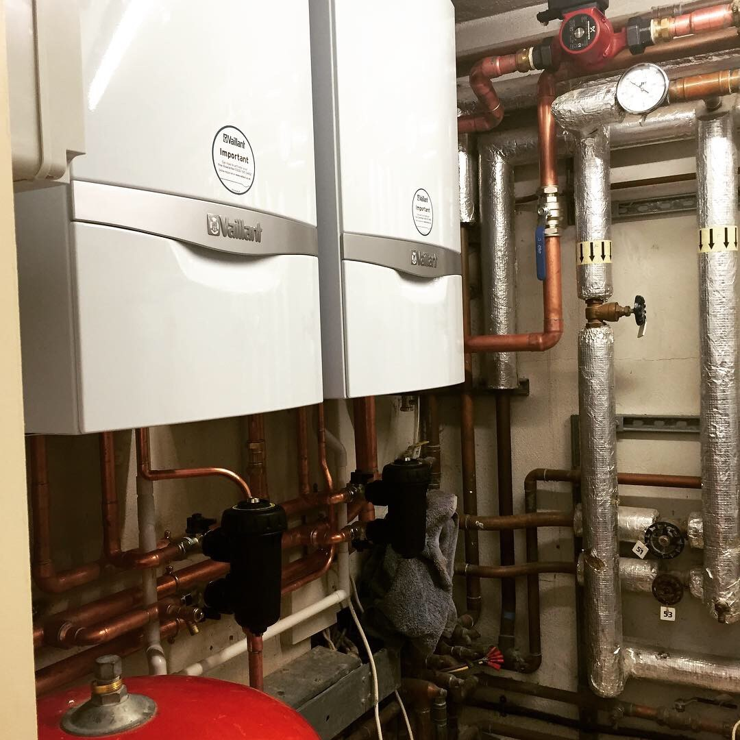 Light commercial boiler installation