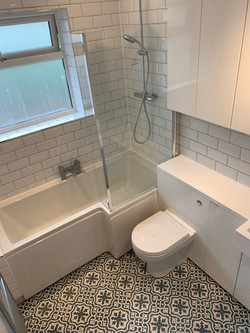Colliers Wood bathroom