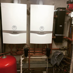 Light commercial boiler installation