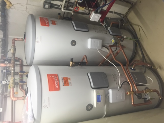 Unvented hot water cylinder replacement