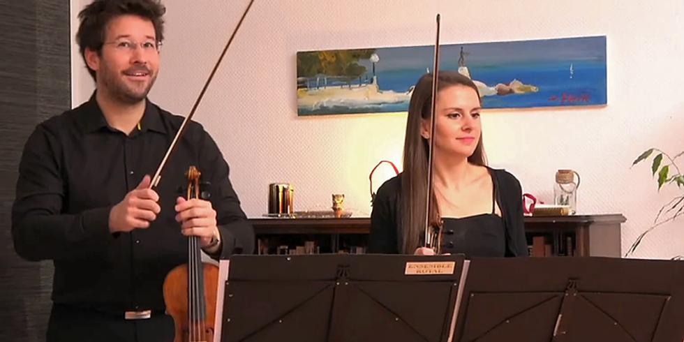 13. Livestream vom Ensemble Royal aus dem Wohnzimmer