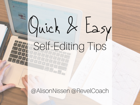 Self-Editing for Smart People