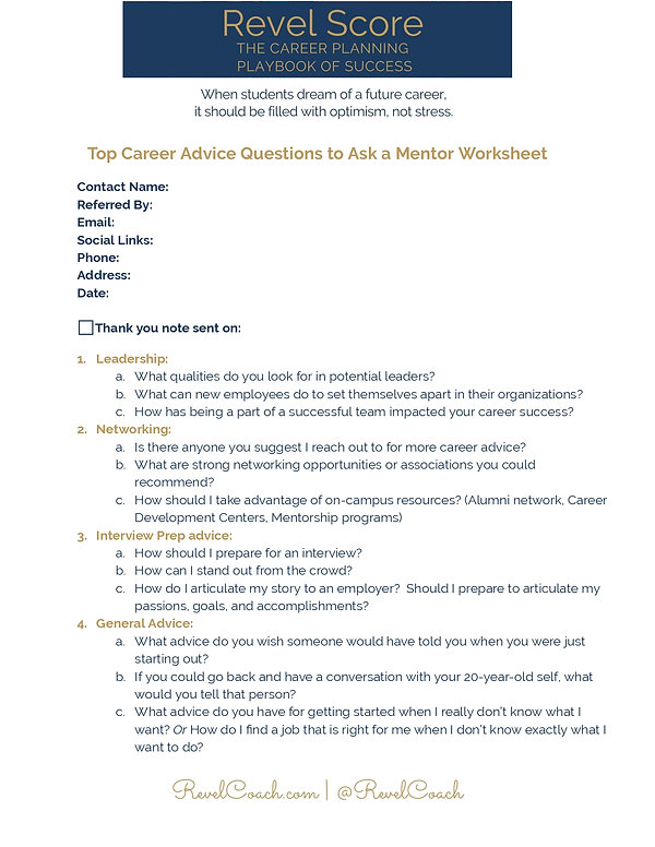 Top Career Advice Questions to Ask a Men