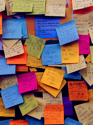 Sticky Messages: How to Make Positive Thoughts Stick