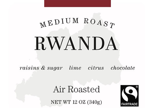 Fairtrade Rwanda - 12oz. or 5lb bag