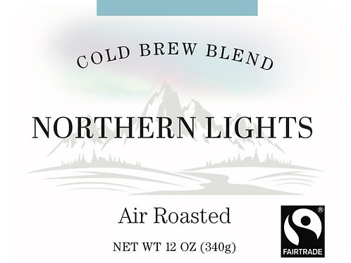 Fairtrade Northern Lights Cold Brew Blend - 12oz or 5lb bag