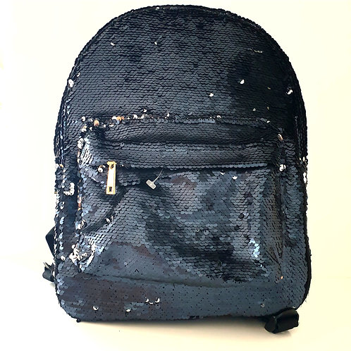 Large Sequin Backpack