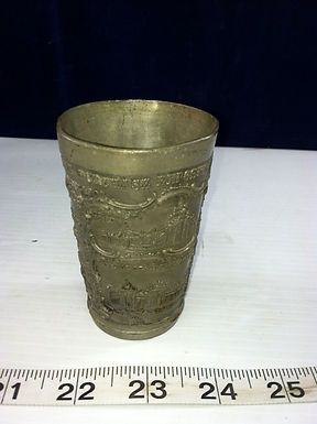 Souvenir Lead Cup Louisiana Purchase Exposition 1803-1904