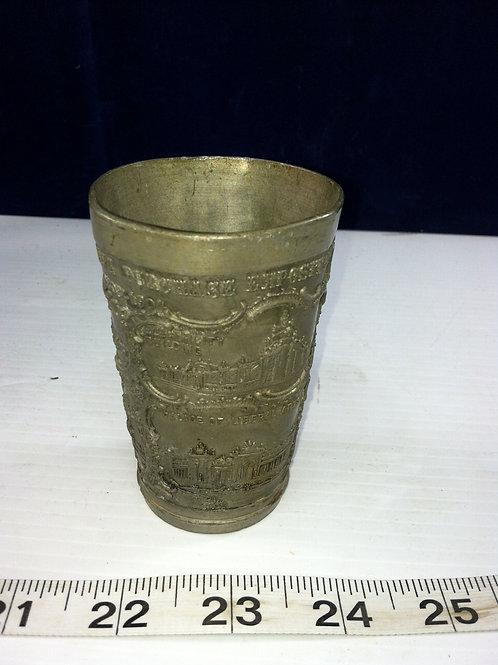 Souvenir Lead Cup Louisiana Purchase Exposition 1803-1904