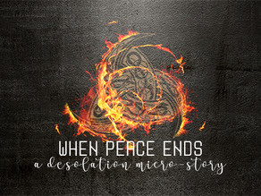 Flash: When Peace Ends