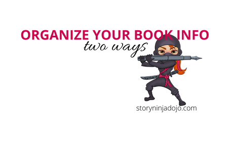 Organize Your Book Info Two Ways