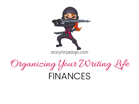 Organizing Your Writing Life: Finances