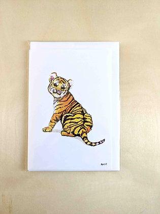 Tigger - Greeting Card  | Alice Wilkinson