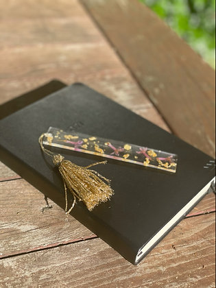 Resin Bookmark with Tassel | Lucy Stephan