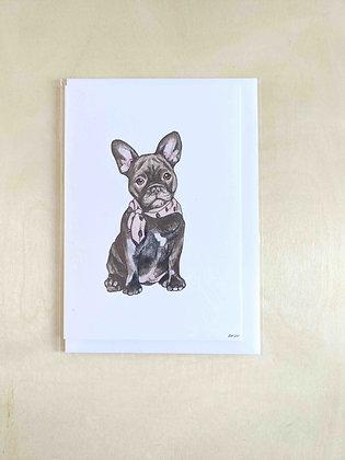 Bertie - Greeting Card  | Alice Wilkinson