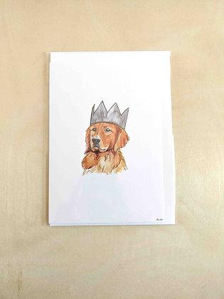 Bronson - Greeting Card  | Alice Wilkinson