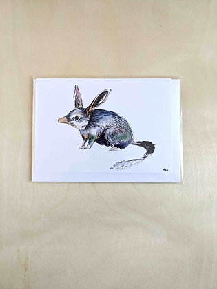 Bilby - Greeting Card  | Alice Wilkinson
