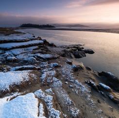 SNOWY BAY PORTRAIT
