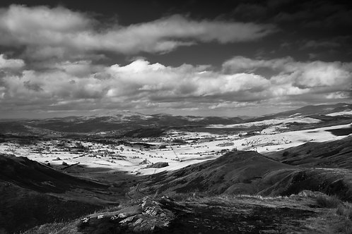 VIEW TOWARDS BALA FROM CAD EAST MONO