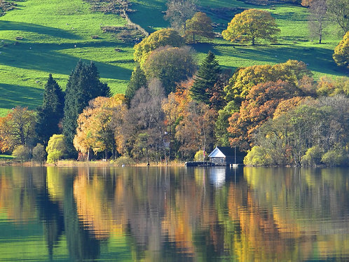 AUTUMN REFLECTIONS, SUNNY BANK, CONISTON