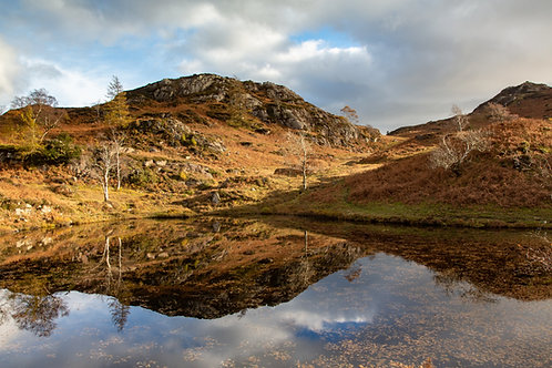 HOLME FELL AUTUMN REFLECTION