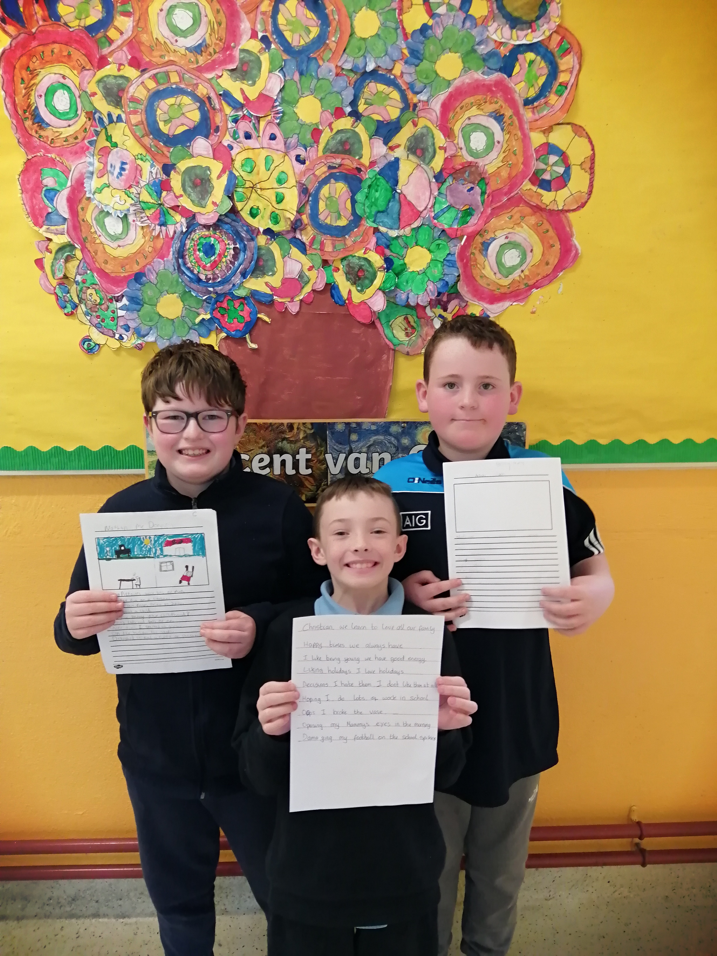 Winners of the BLCO poetry competition -