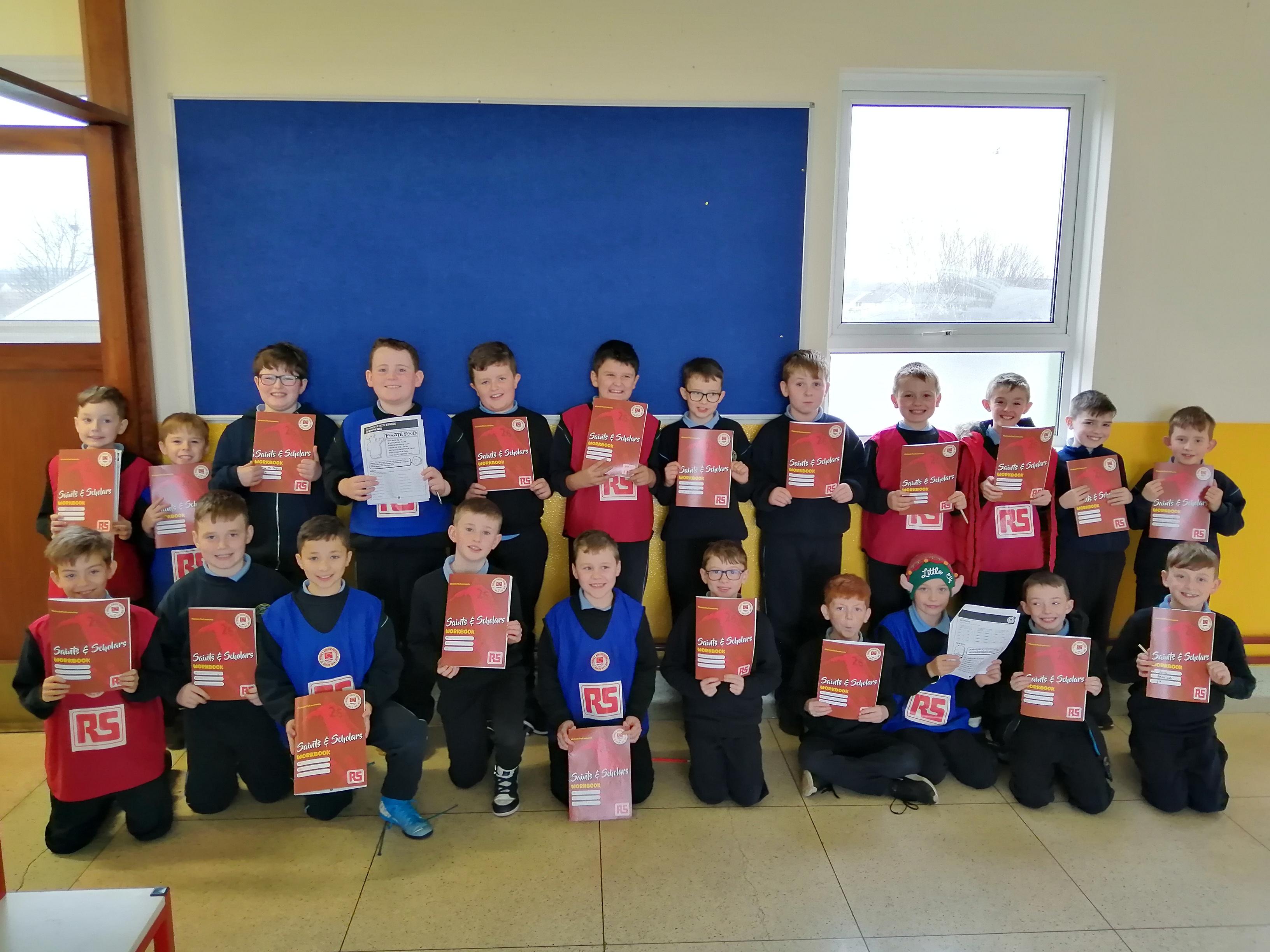 St. Pat's maths and football programme a