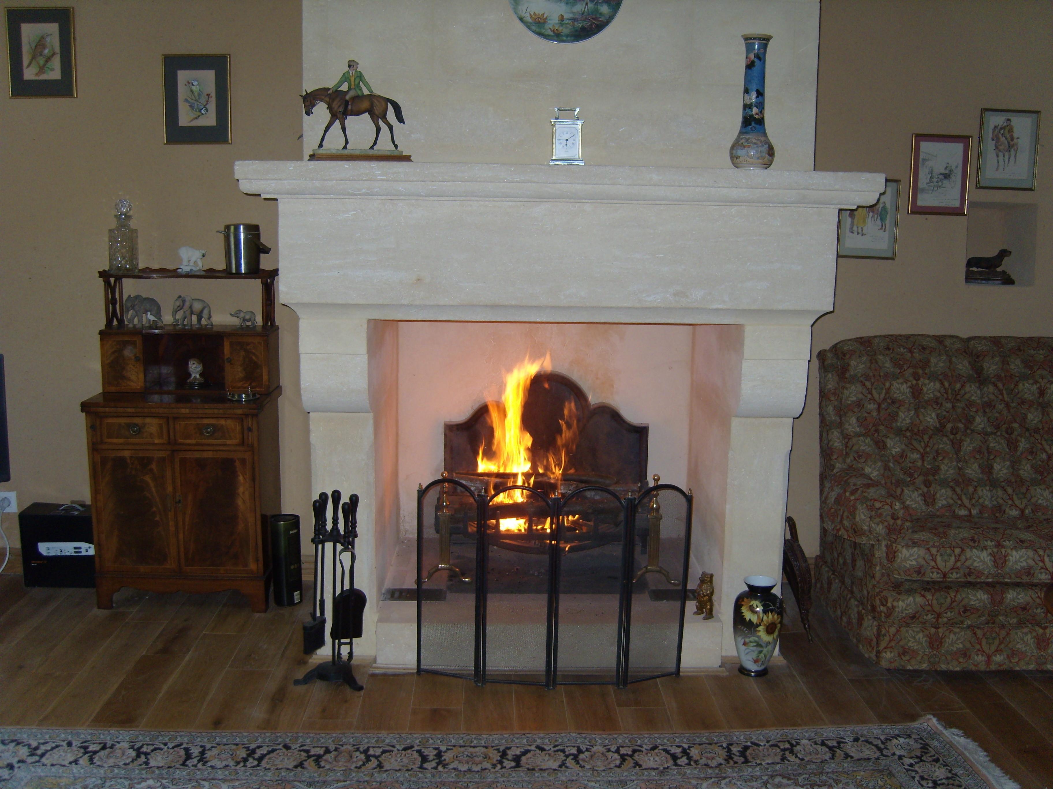 Les Bressettes Fireplace