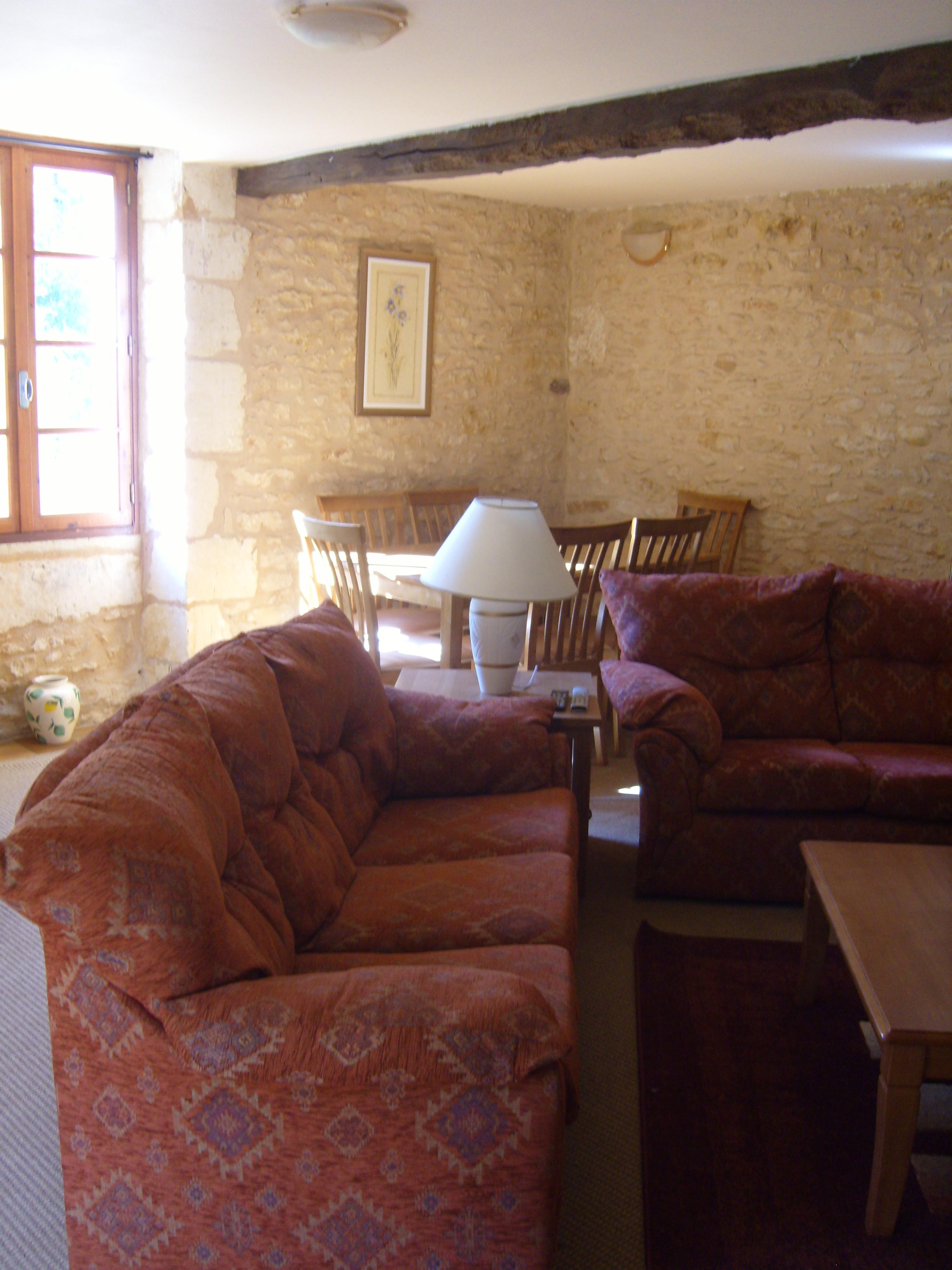 les bressettes gite living room 2