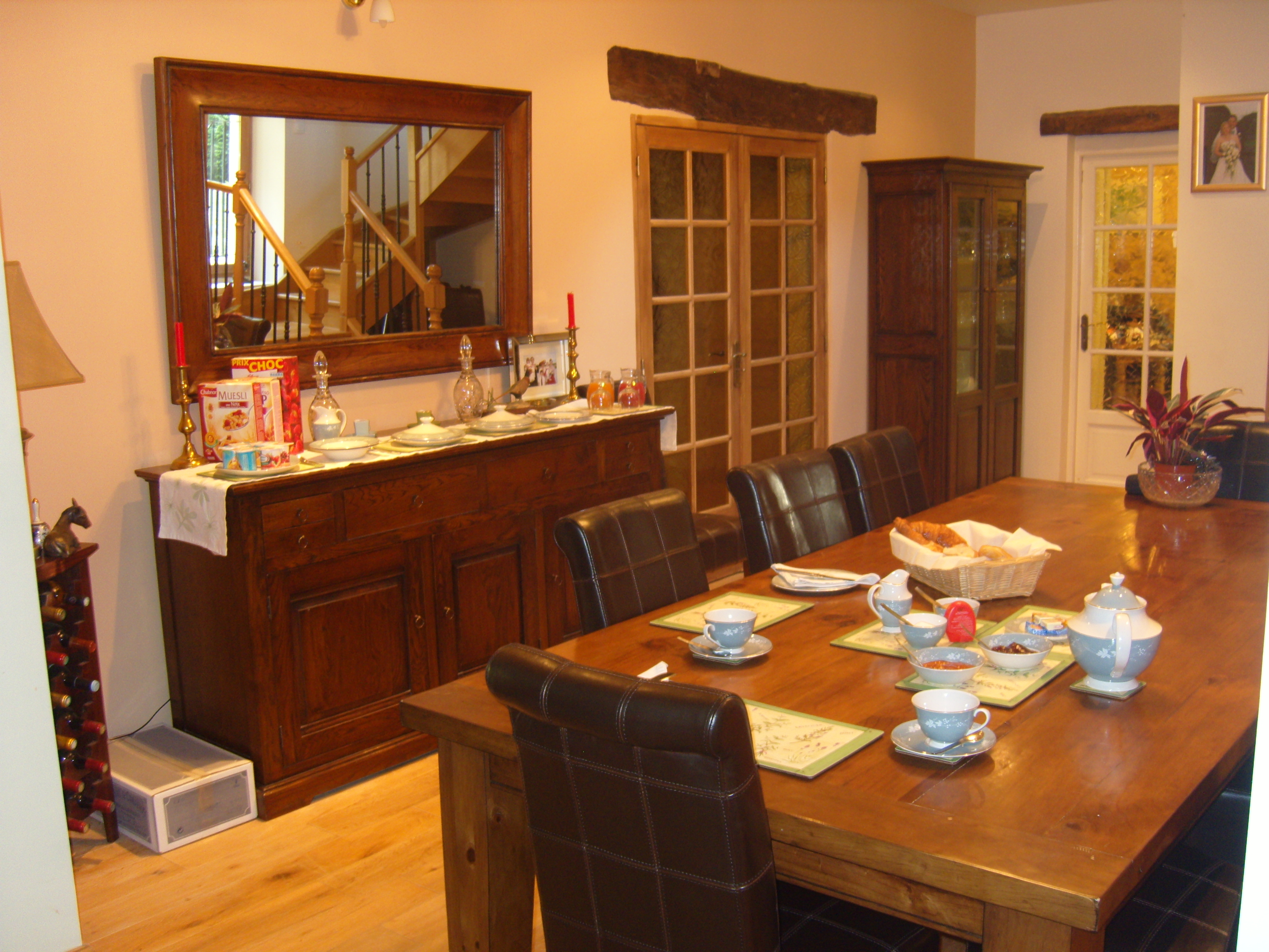 Les Bressettes Dinning Room