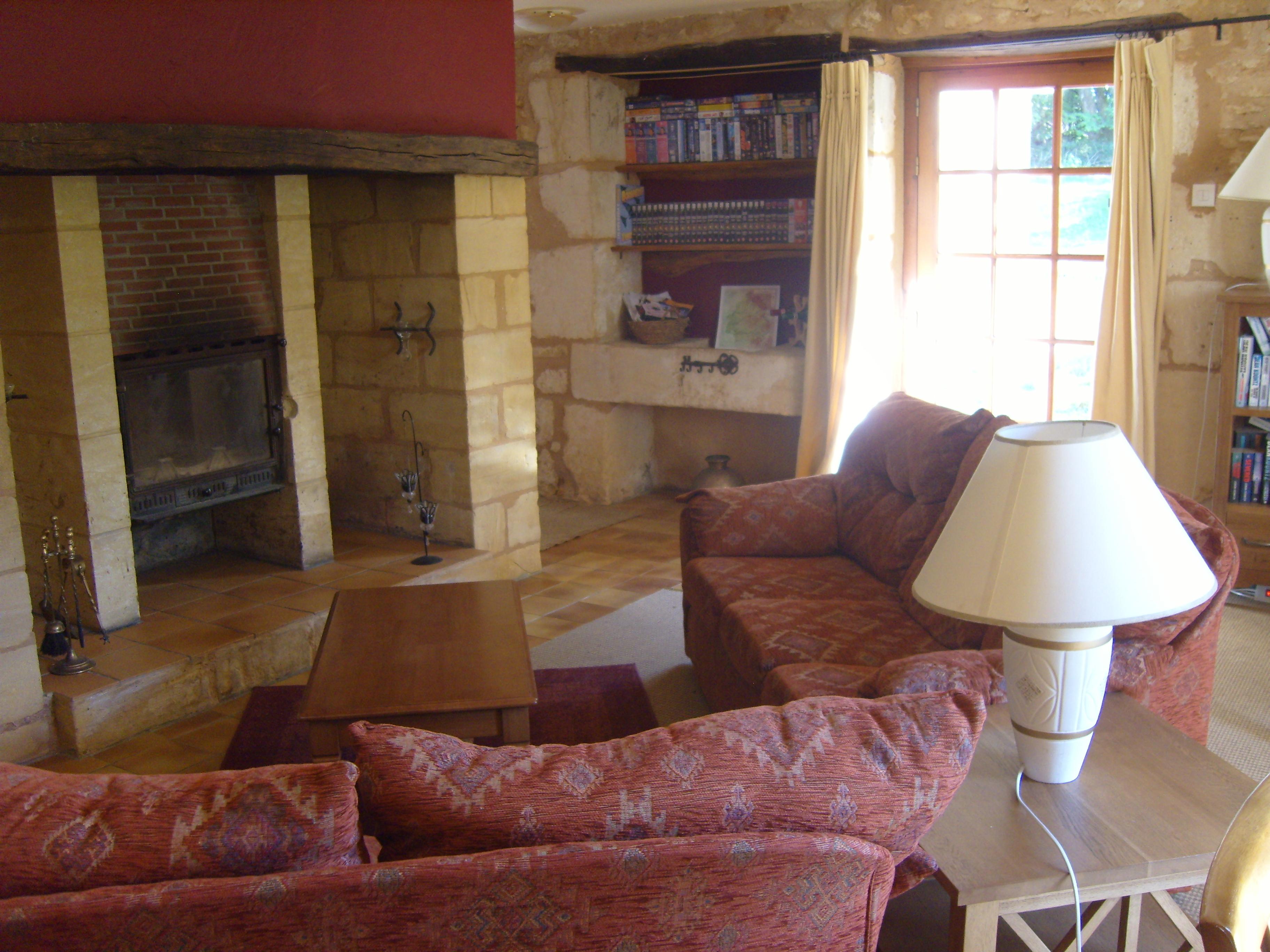les bressettes gite living room 1