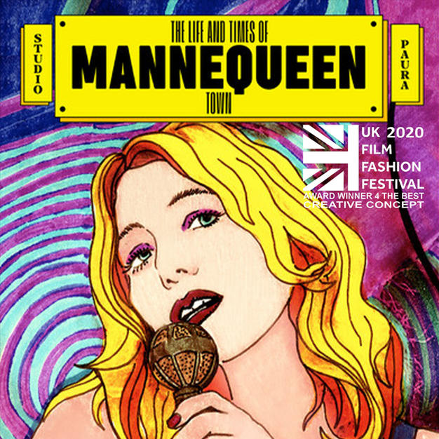 """""""The life and times of Mannequeen Town"""" Award winner for """"The Best Creative Concept"""""""