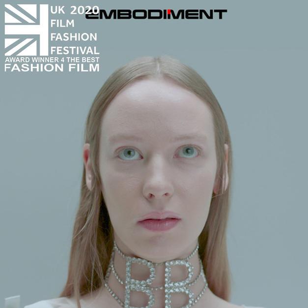 """""""Embodiment"""" Award winner for """"The Best Fashion Film"""""""