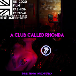 """A Club Called Rhonda"" Award winner for ""The Best Documentary"""