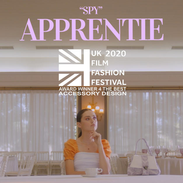 """""""SPY"""" APPRENTIE Award winner for """"The Best Accessory Design"""""""