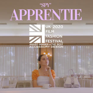 """SPY"" APPRENTIE Award winner for ""The Best Accessory Design"""