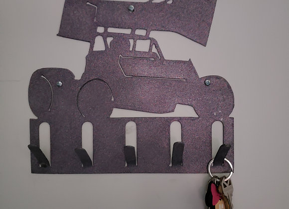 Sprint car key ring holder