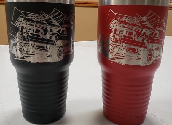 30 oz engraved insulated cup/tumbler