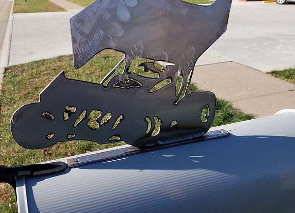 Metal Mailbox topper