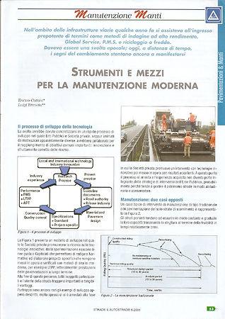 Articolo strade e autostrade 2005-3_Pagi