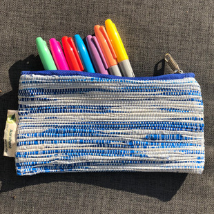 Upcycled pencil case