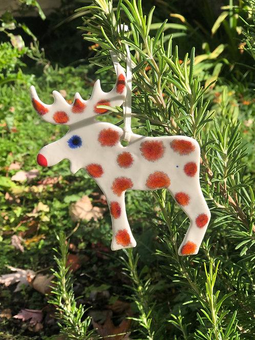 Lava Reindeer decoration