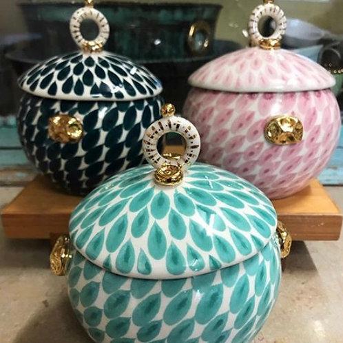 Miranda Berrow sugar pots