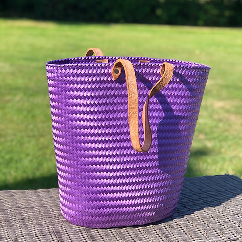 Purple Mexican strong eco-friendly tote