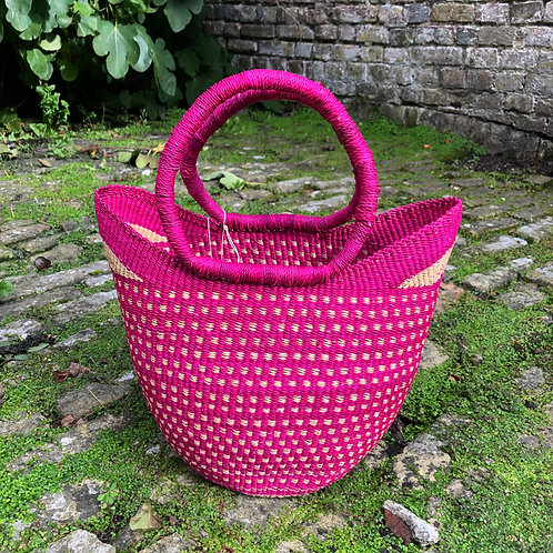 Small Market bag Pink