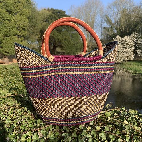 Purple Market Basket
