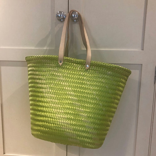 Lime Green Mexican strong eco-friendly tote