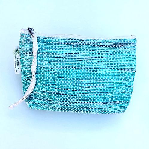Green make up bag/clutch