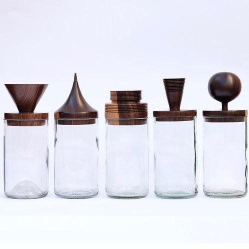 Clear Storage Jars